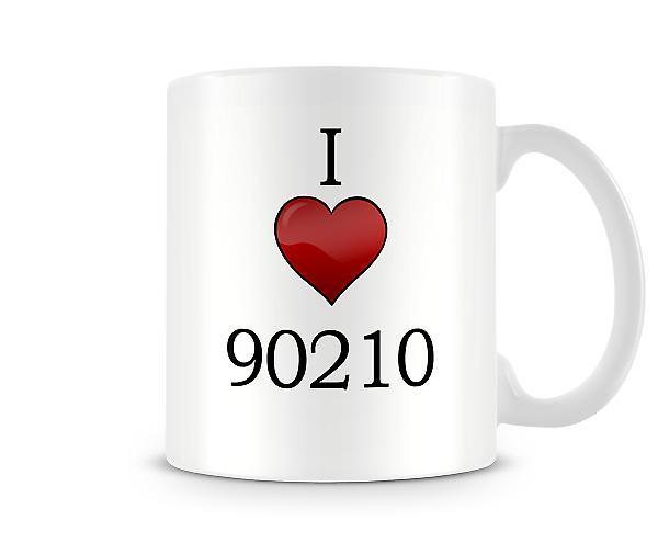 Amo la tazza stampata 90210