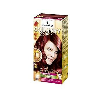 Schwarzkopf Country Colors - Grand Canyon/Copper Red 58