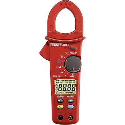 Benning CM 8 Clamp meter, Handheld multimeter Digital Calibrated to  Manufacturers standards (no certificate) CAT III 600 V Display (counts)  6000