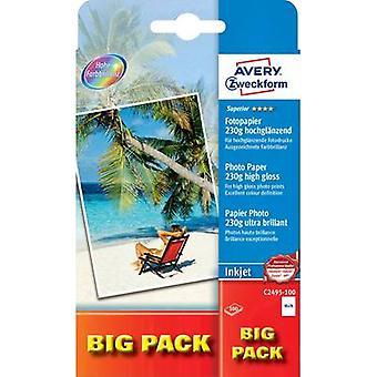Foto papel Avery Zweckform Superior foto papel de inyección de tinta C2495-100
