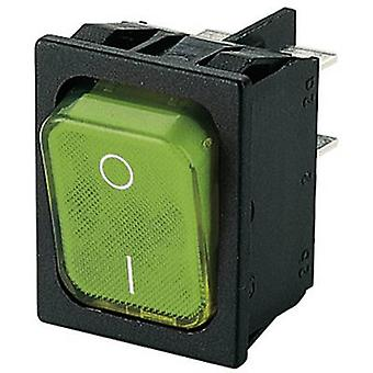 Marquardt Toggle switch 1835.3105 250 V AC 6 A 2 x Off/On IP40 latch 1 pc(s)