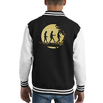 Original Stormtrooper Forest Moonlight Kid's Varsity Jacket