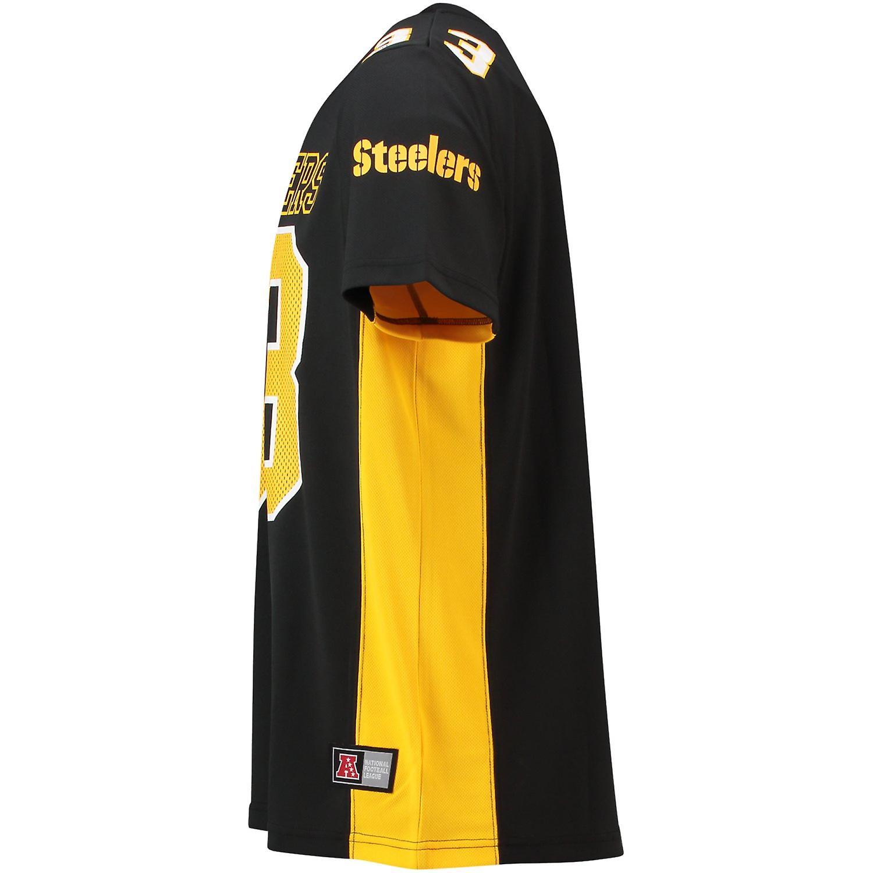 9e0c0bf8ec9f9 Majestic NFL MORO Polymesh Jersey shirt Pittsburgh Steelers