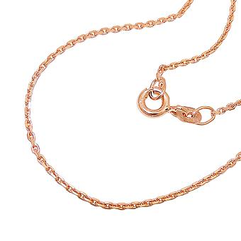 Chain 1, 1 mm anchor chain 14Kt rose gold 45 cm
