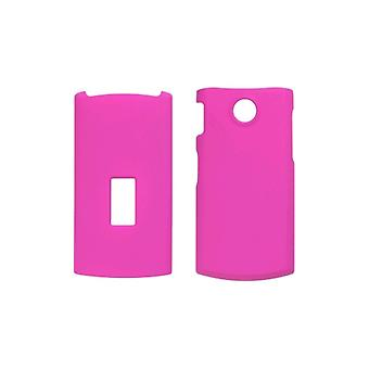 Soft Touch Snap-On Case voor LG GD570 dLite - Hot Pink