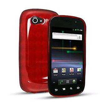 After Market Sprint Slider Skin Case for Samsung 9100 Nexus S - Red