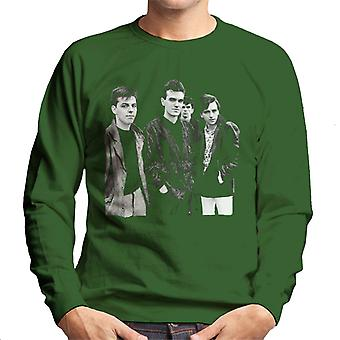 The Smiths Closeup From Salford Lads Club 1985 Men's Sweatshirt