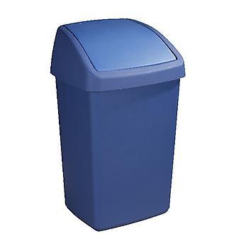 Sunware Delta afvalbak 50ltr swing blauw