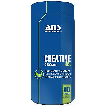 ANS Performance Creatine HCL 90 Capsules (Sport , Muscle mass , Creatine)