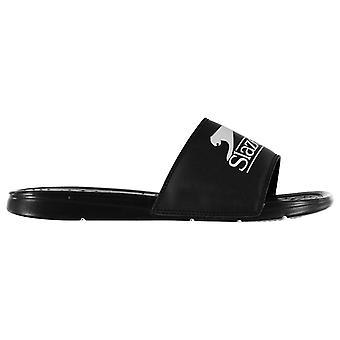 Slazenger Mens Basic Sliders Pool Shoes Strap