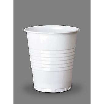 Taza fría Squat disponible blanco 7oz