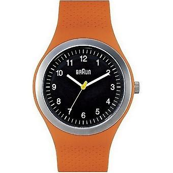 Braun Uhren Herrenuhr Sports BN0111BKORG-66538