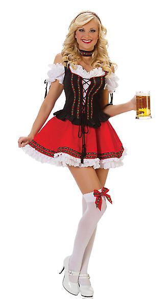 Waooh 69 - Costume De Bavaroise Bavarika