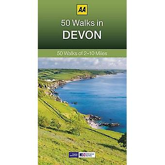 50 Walks in Devon (3rd Revised edition) by Sheila Hawkins - 978074957