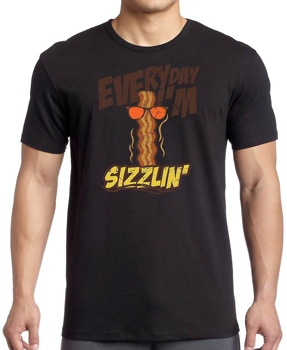 Everyday Im Sizzlin - Funny Crude Women T Shirt