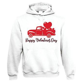 Happy Valentinsdag, Pickup lastebil hjerter, hettegenser