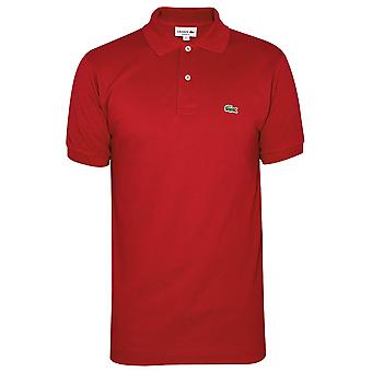 Lacoste Lacoste Classic L1212 Red Polo Shirt