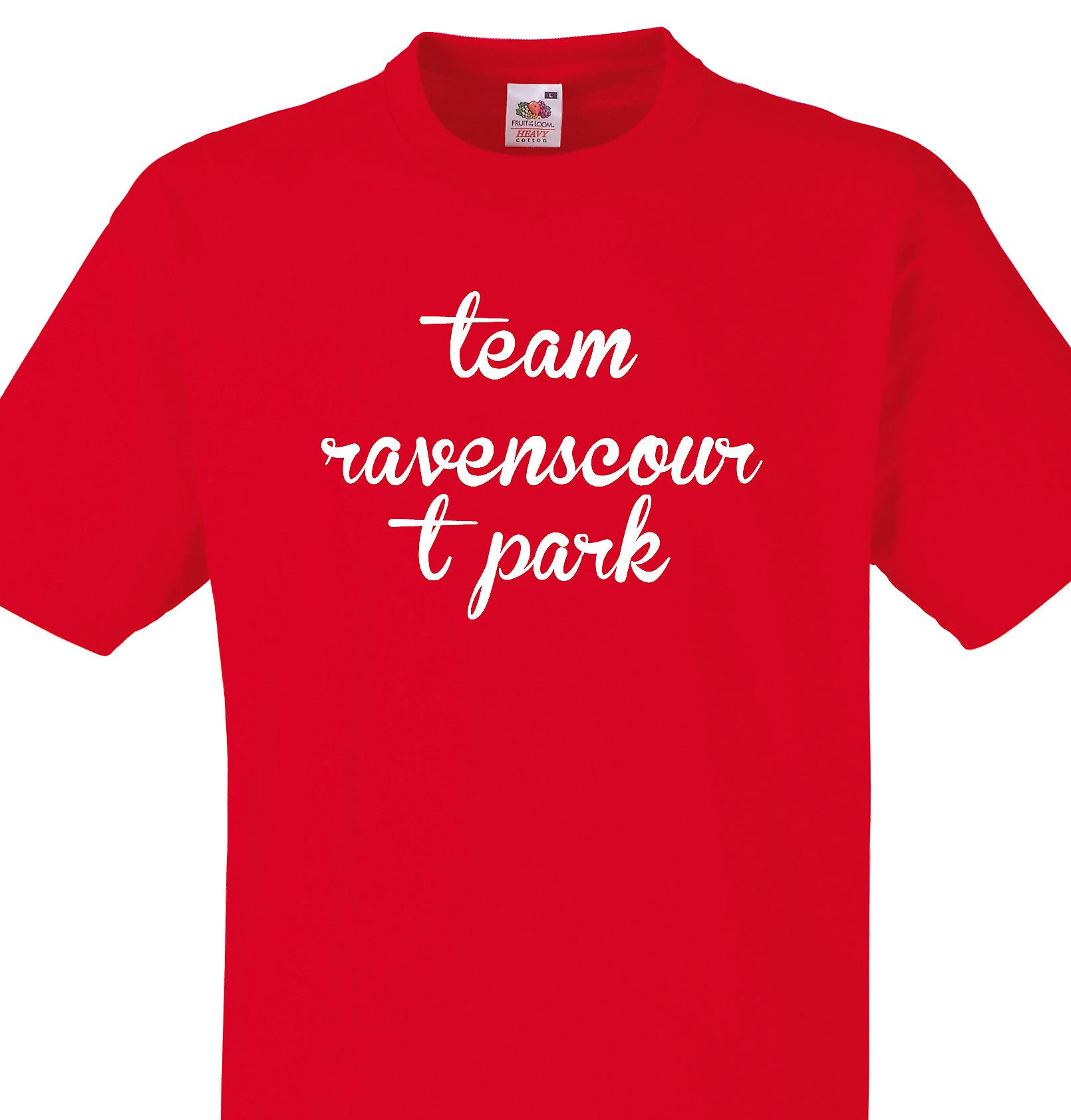 Team Ravenscourt park Red T shirt