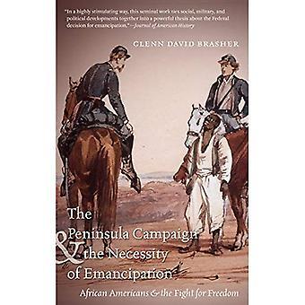 La campaña de la península y la necesidad de emancipación: americanos africanos y la lucha por la libertad (la Guerra Civil...