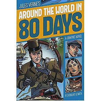In 80 Tagen um die Welt (Grafik drehen: Common Core-Editionen)