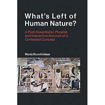 What's Left of Human Nature?: A Post-Essentialist, Pluralist,� and Interactive Account of� a Contested Concept (Life and Mind: Philosophical Issues in Biology and Psychology)