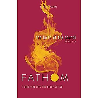 Études bibliques de Fathom: La naissance du Guide chef d'église: une plongée profonde dans l'histoire de Dieu (études bibliques de Fathom)