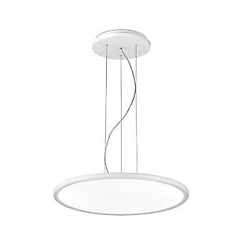 Net Large White LED Standard Pendant - Grok 00-0003-BW-M1