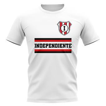 Base de independiente Football Club camiseta (blanco)
