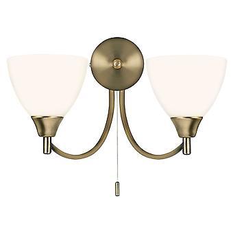 Lámpara de pared de interior de Alton - Endon 1805-2AN