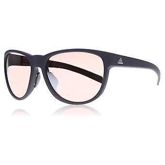 Adidas A425/00 6051 preto selvagem carga Praça óculos dirigindo lente categoria 3 lente espelhado tamanho 57mm