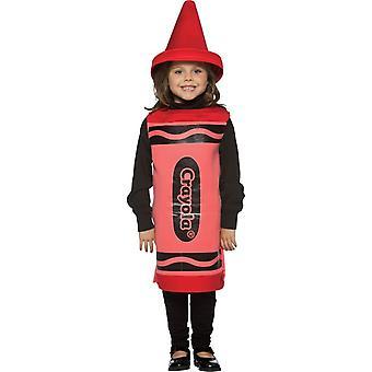 Red Crayola Child Costume