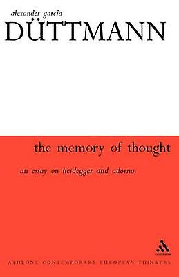Memory of Thought by DutthomHommes & Alexander Garcia