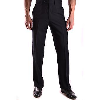 Gianfranco Ferré Black Wool Pants