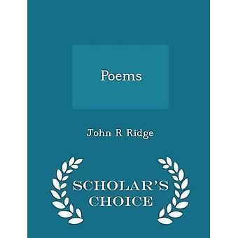 Gedichten geleerden keuze Edition door Ridge & John R