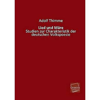 Lied Und Mare by Thimme & Adolf
