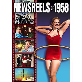Newsreels of 1958 - Volume 1 [DVD] USA import