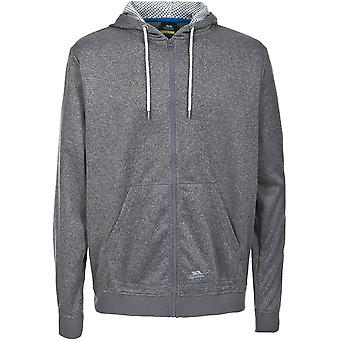 Intrusion Mens Goodman Full Zip Jacquard moyennement lourds Fleece Jacket