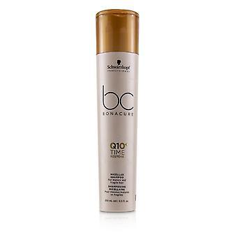 Schwarzkopf BC Bonacure Q10+ Time Restore Micellar Shampoo (For Mature and Fragile Hair) - 250ml/8.5oz
