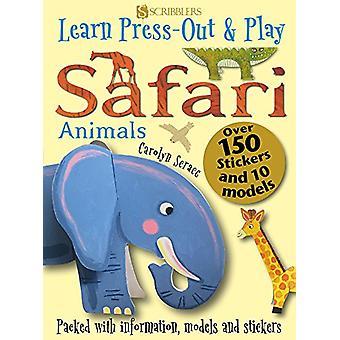 Learn - Press-Out & Play Safari Animals by Carolyn Scrace - 978191223
