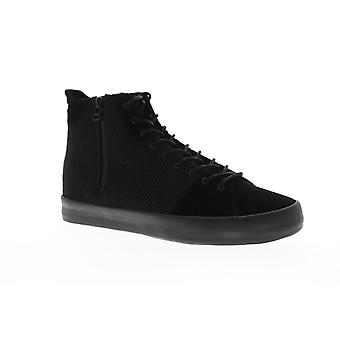 Creative Recreation Carda Hi Mens Black Suede High Top Sneakers Shoes