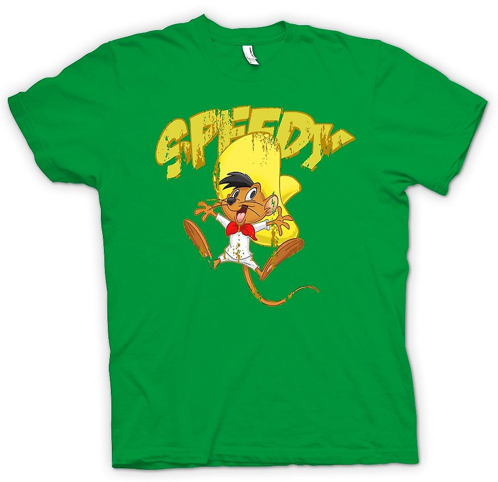 Mens t-skjorte - rask - Speedy Gonzales