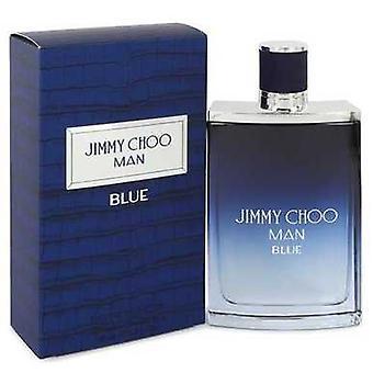 Jimmy Choo man Blue av Jimmy Choo Eau de Toilette Spray 3,3 oz (herrar) V728-542640