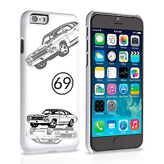 Caseflex Chevrolet Chevelle Classic Car iPhone 6 and 6s Case White