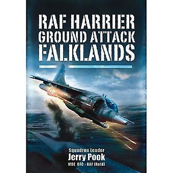 RAF Harrier-Boden-Angriff - Falkland