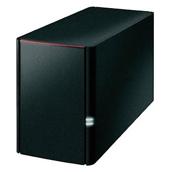 Buffalo 4TB LinkStation 220 NAS Drive, (2 x 2TB), RAID 0/1, GB LAN, NovaBACKUP, Built-in BitTorrent