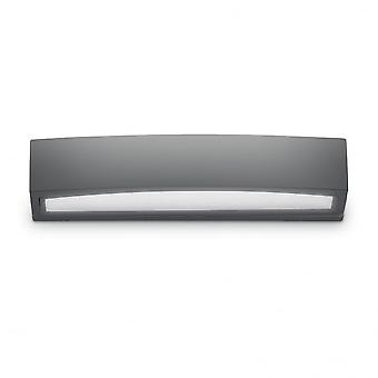Ideal Lux Andromeda Modern Anthracite Outdoor Twin Wall Light