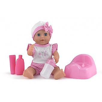 Poppen wereld Baby dribbels cadeauset
