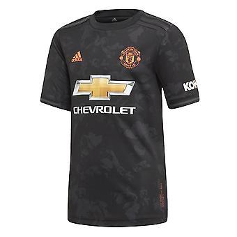 Adidas Manchester United 2019/20 Kids korte mouw derde voetbal shirt zwart