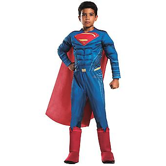 Boys Superman Deluxe Costume - Batman V Superman: Dawn of Justice
