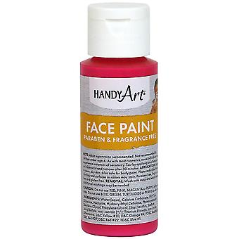Handy Art Face Paint 2oz-Magenta 558-25